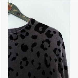 F21 Printed Sweater